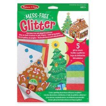Melissa And Doug Mess Free Glitter Christmas Ornaments Decorations