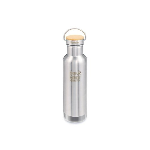 Klean Kanteen 592ml Water Bottle Reflect Vacuum Insulated Brushed Effect (Stainless Steel)