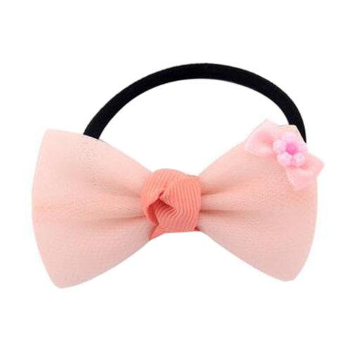 2PCS Kids Cute Elastics Hair Ties Ponytail Holder Accessories Girls Hairdressing, M