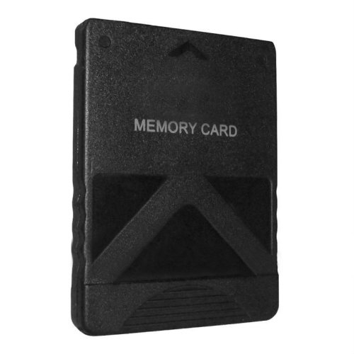 Memory card for PS2 8MB Sony PlayStation 2 slim console save game black ZedLabz