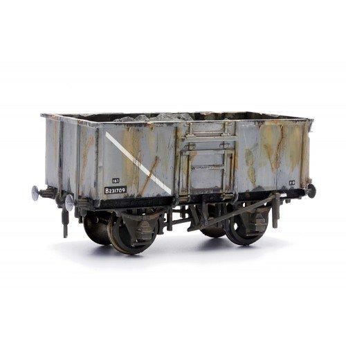 16 Ton Steel Mineral Wagon - Dapol Kitmaster C037 - OO plastic model kit