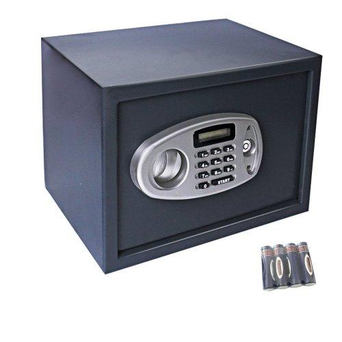 Display4top electronic Security Safe Box - Black (35 * 25 * 25cm)