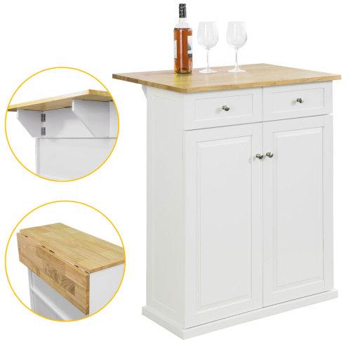 SoBuy® FSB17-WN, Kitchen Bar Cabinet Storage Cabinet Cupboard Sideboard