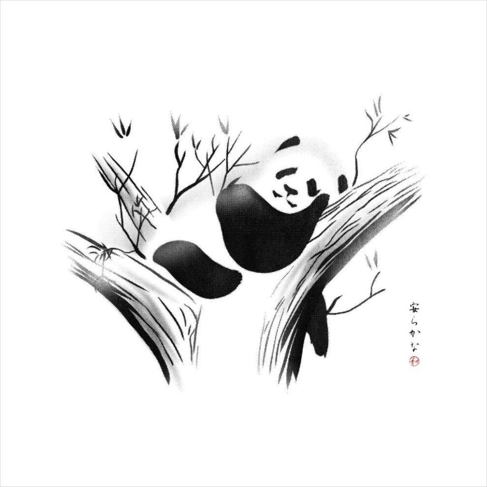 94f864502 Relaxed Panda Men's Baseball Long Sleeved T-Shirt on OnBuy