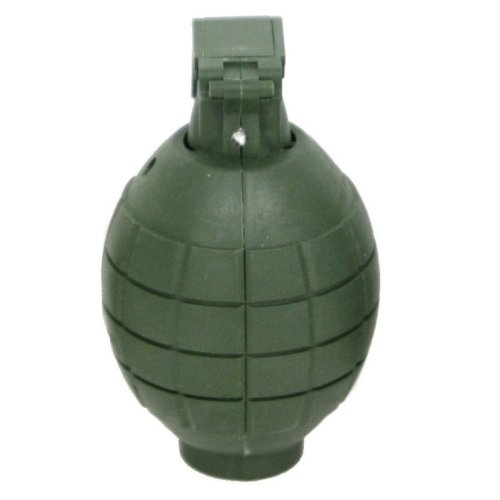 Green Plastic Toy Hand Grenade with Light & Sound