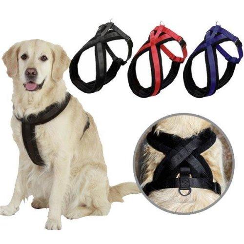 Adjustable Pet Dog Harness Walking Chest Strap Belt Lead Leash D-Ring