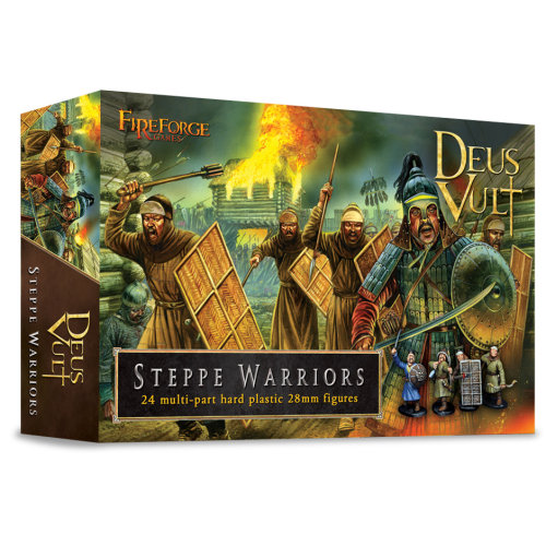 Steppe Warriors - 28mm multipart figures - FireForge FFG008 - Free post P3