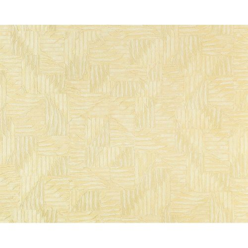EDEM 913n-21 wallpaper non-woven 3D embossed basketwork look off-white 10.6 sqm