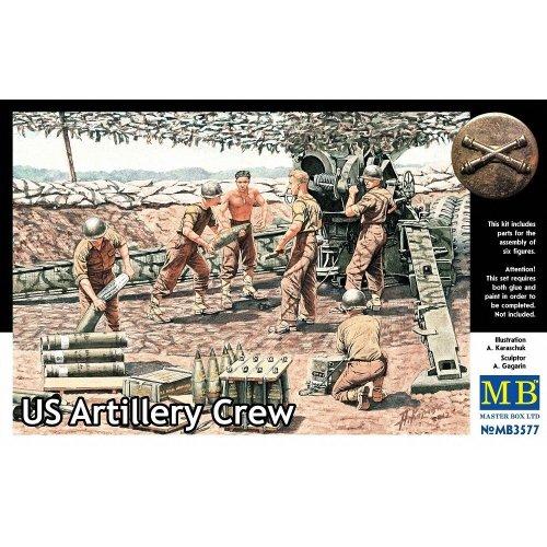 Mas3577 - Masterbox 1:35 - Us Artillery Crew