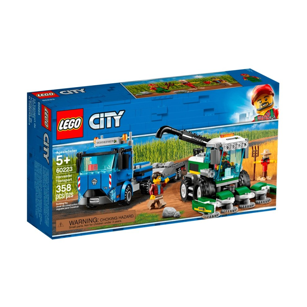 Lego City 60223 Great Vehicles Harvester Transport 5 Set On Onbuy