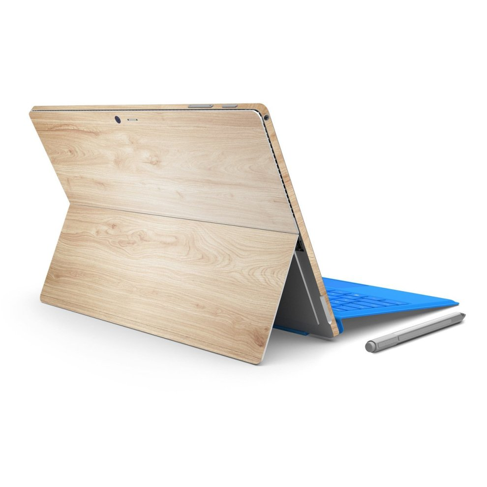 7e7b9c77d5e96 ChasBete Surface Pro 3 Decal Skin Wood Grain Protective Vinyl Sticker Cover  Precision-Fit Art Style, Easy to Apply for Microsoft Surface Pro3