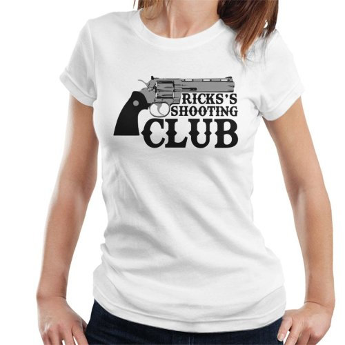 Ricks Shooting Club Walking Dead Women's T-Shirt