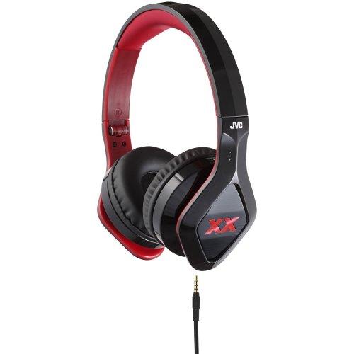 JVC Xtreme Xplosives XX Club Sound On-Ear Headphones - Black