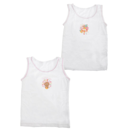 In The Night Garden Official Childrens Girls Cotton Vests (Pack Of 2)