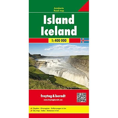 Iceland Road Map (Country Road & Touring)