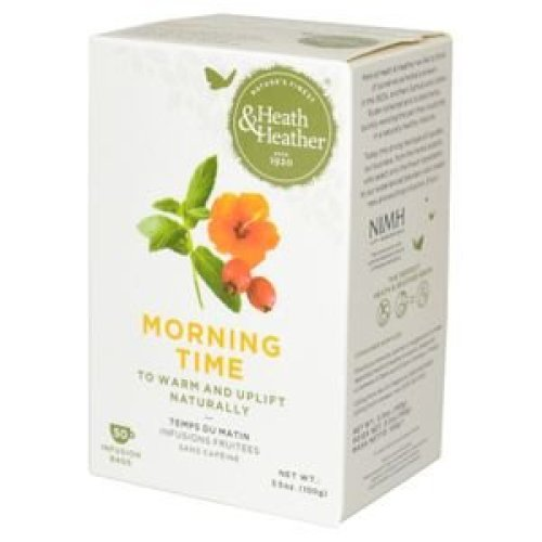 Heath & Heather Morning Time Tea | Herbal Tea Bags