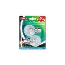Eveready Bc Golf (40w) 28w Clear B22 Blister Of 2