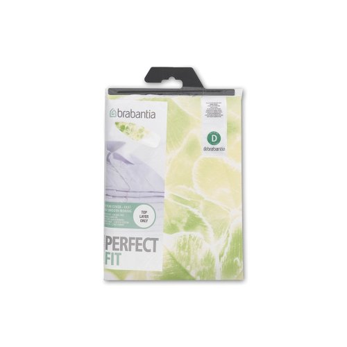 Brabantia Ironing Board Cover with 2 mm Foam - 135 x 45 cm, Cotton, Nature Assorted Colours