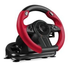 Speedlink Trailblazer Steering Wheel for Games For Xbox One/PS4/PS3, Black