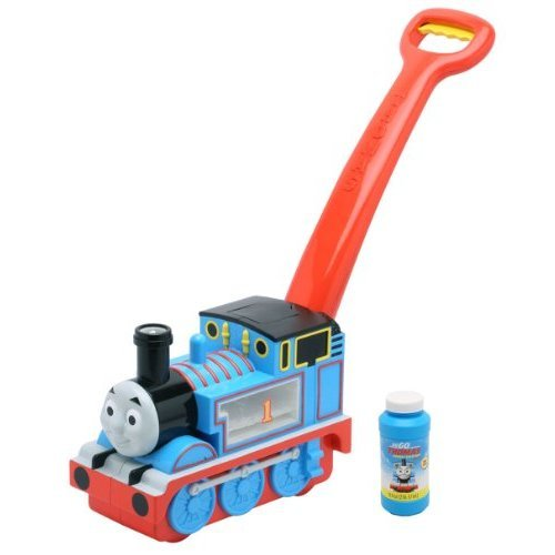 Imperial Toy All Aboard Thomas Go Bubbles, Blue
