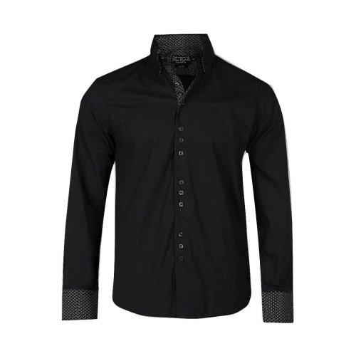 Victory Eagle Men's VT563 Long Sleeved Shirt Black