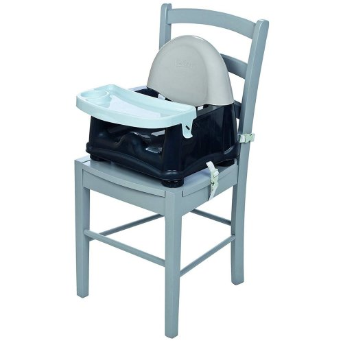 Safety 1st Easy Care Swing Tray Booster - Grey Patches