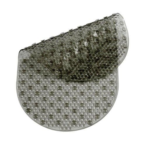 PVC Bath Mat, Smoke Grey