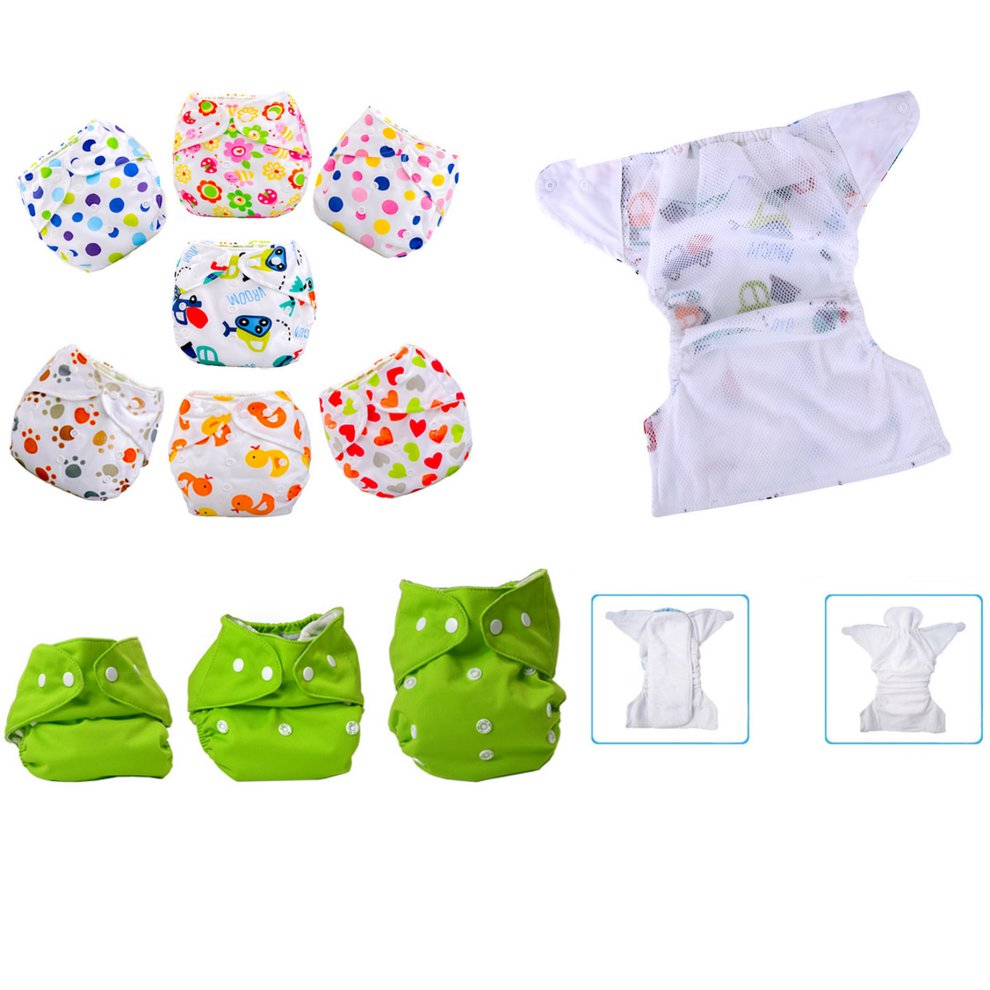 ff5fe3660a93 Summer Grid Baby Cloth Diaper Cover Adjustable Size Sedan Car ...