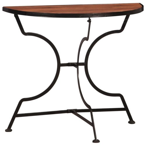 vidaXL Bistro Balcony Table 85x43x75 cm Solid Acacia Wood
