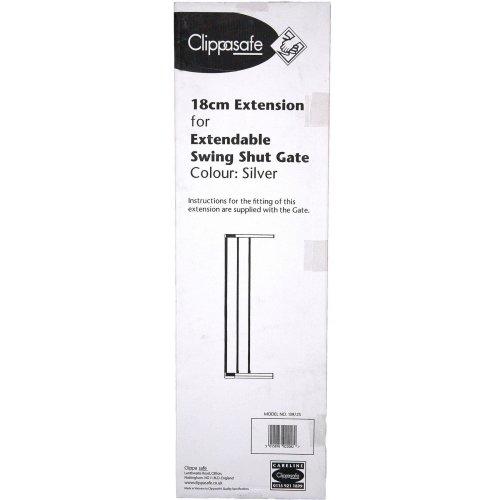 Clippasafe Swing Shut Extendable Gate Extension - 18cm
