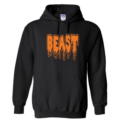 Halloween Mr Beast Logo Kids Hoodie