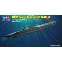 Hbb83505 - Hobbyboss 1:350 - Dkm Type Viic U-boat