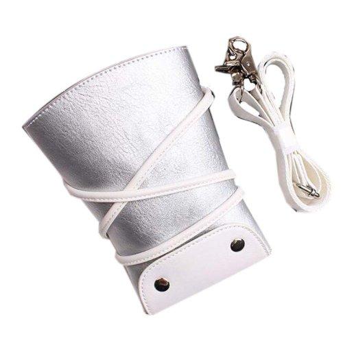 Hair Scissors Bag Hair Beauty Tools Package Hair Stylist Pockets, Silver