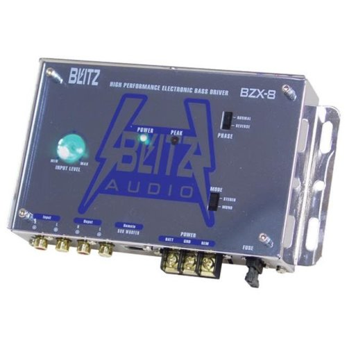 Blitz BZX8 High Performance Electronic Crossover Bass Driver Network