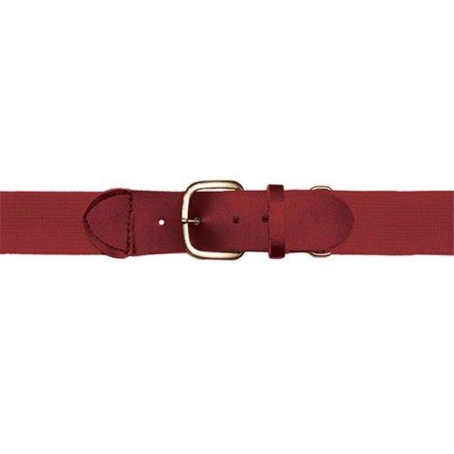 Adult Baseball & Softball Uniform Belt, Cardinal