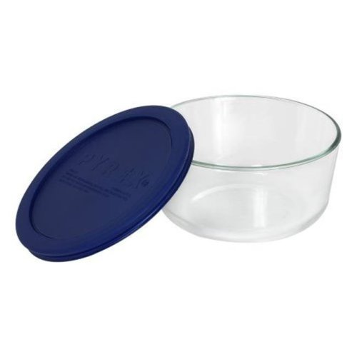 Pyrex 1069532 2.5qt  Mixing Bowl with Blue Cover