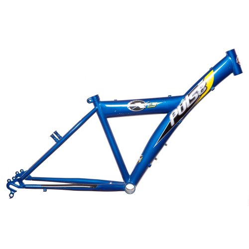"PULSE X8 24"" BIKE/CYCLE FRAME (SIZE 14"") TURQUOISE BLUE V-BRAKE (1"" HEADTUBE)"