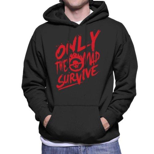 Mad Max Fury Road Survive Quote Men's Hooded Sweatshirt