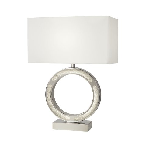 Searchlight Alaska 1 Light Table Lamp With LED Base