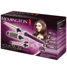 Remington CI97M1 Your Style Bar Starter Kit Hot Brush, 19 mm Tong & Conical Wand
