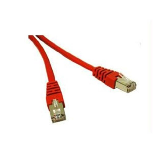 CABLES TO GO 27262 14ft CAT5e Shielded Patch Cable Red