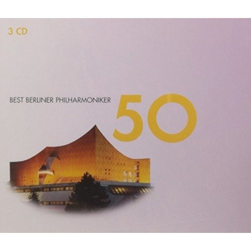 50 Best Berliner Philharmoniker [CD]