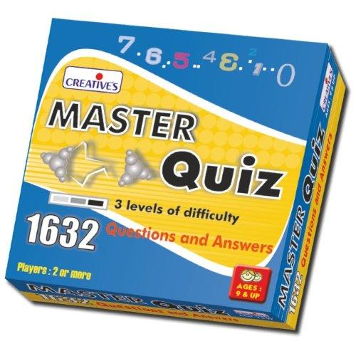 Cre0820 - Creative Games - Master Quiz