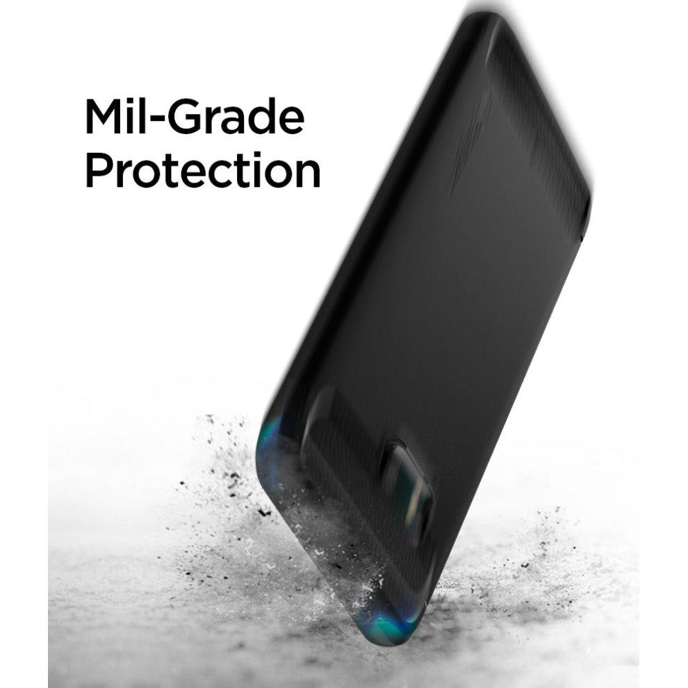 detailed look 4647e 21dd0 Spigen H11CS21938 HTC U11 Case Rugged Armor Black Original Patent Carbon  Fiber Design Shock Absorption Phone Case Cover