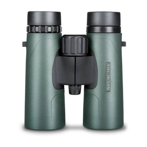 Hawke Nature Trek Binoculars - BAK 4 Roof Prism - 8x42 Green - latest version