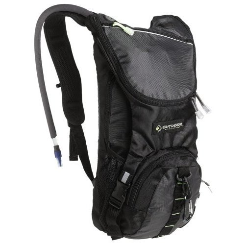 Outdoor Products Ripcord Hydration Pack, Graphite