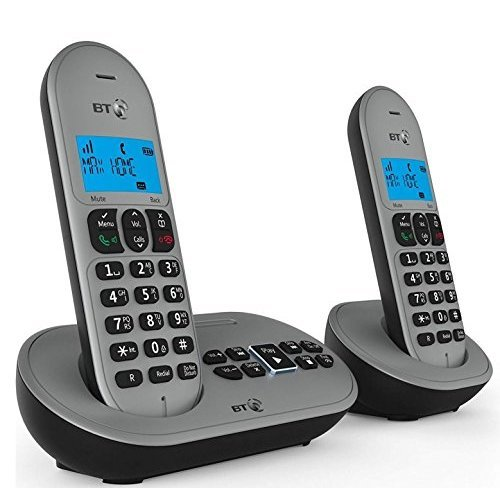 BT 3580 Twin Digital Cordless Telephone with Answer Machine