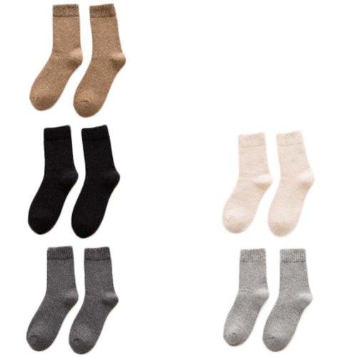 5 Pairs Adult Floor Socks Sleep Socks Winter Casual Socks #11