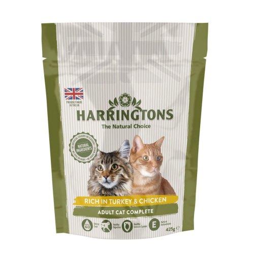 Harringtons Complete Cat Turkey 425g (Pack of 6)