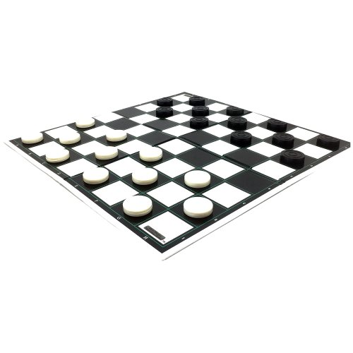 Draughts or Checkers Set by Laeto Toys and Games